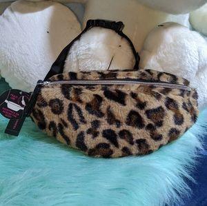 NWT Waistpack /Fannypack /Bumbag Faux Fur Bag